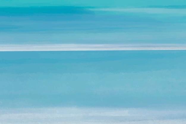 Fond aquarelle bleu, vecteur de conception abstraite de papier peint de bureau bleu