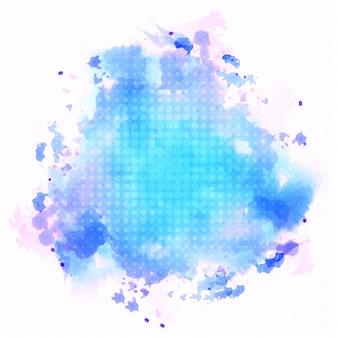 Fond d'aquarelle bleue