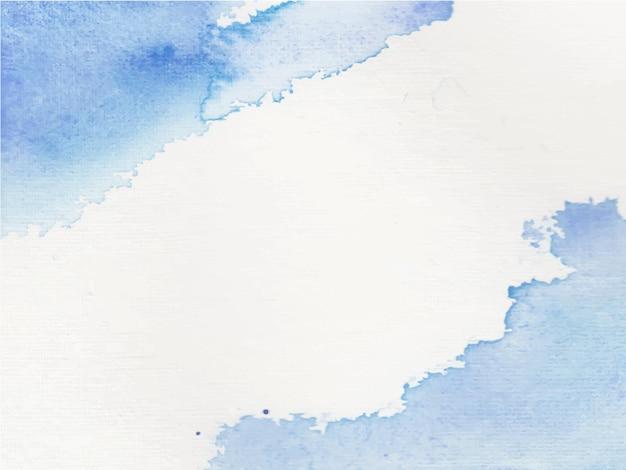 Fond aquarelle de ciel bleu. modèle peint abstrait avec texture de papier.