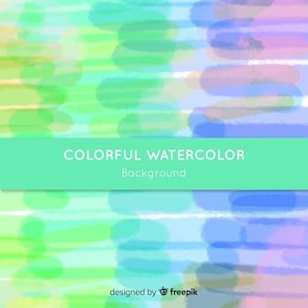 Fond aquarelle coloré