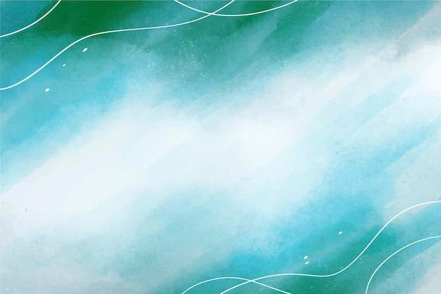 Fond aquarelle dessinés à la main