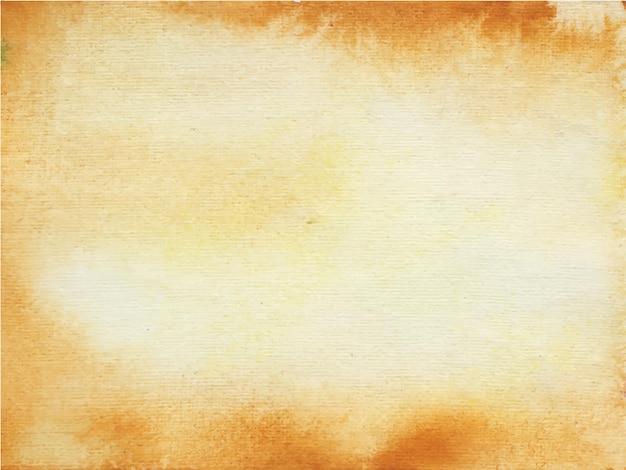 Fond aquarelle marron à toutes fins.