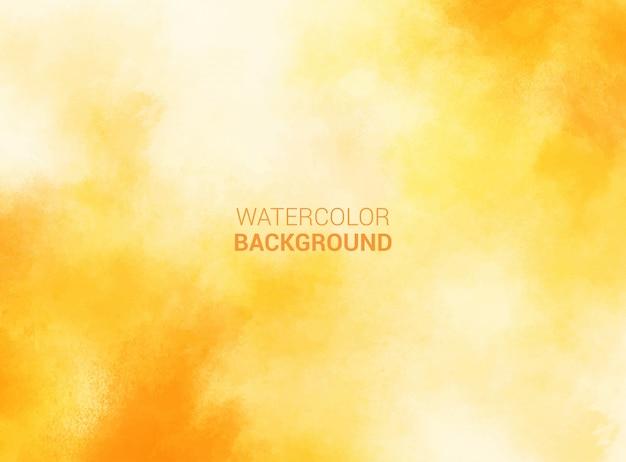 Fond aquarelle pastel jaune. texture grunge. peinture d'art numérique