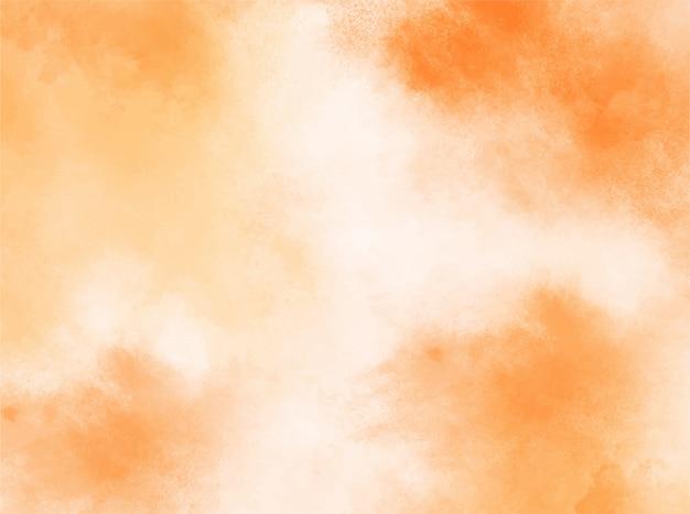 Fond aquarelle pastel orange