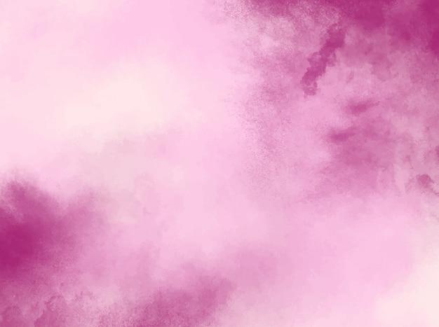 Fond aquarelle pastel rose. texture grunge. peinture d'art numérique