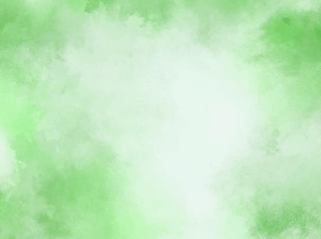 Fond aquarelle pastel vert. texture grunge. peinture d'art numérique