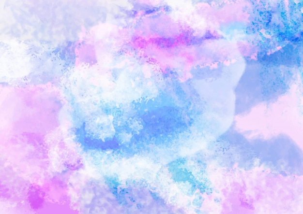 Fond aquarelle pastel