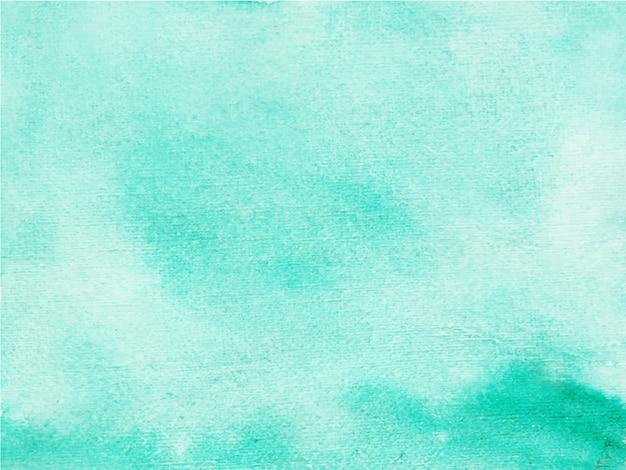 Fond aquarelle peint à la main abstraite bleue. texture décorative. image dessinée à la main sur papier.