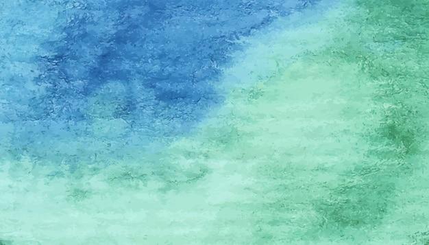 Fond aquarelle peint à la main avec des dégradés de couleurs