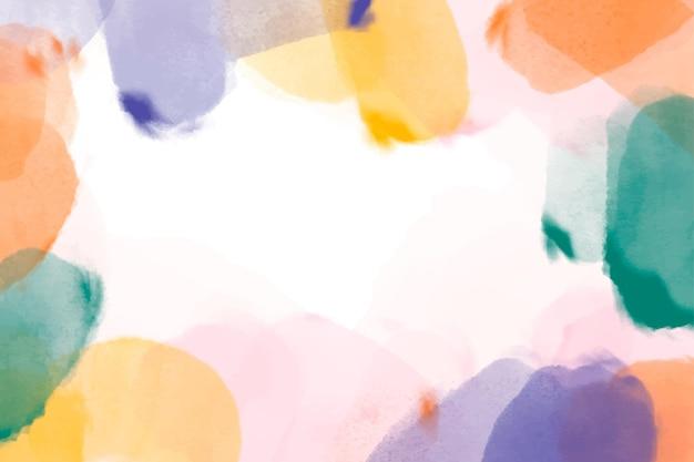 Fond aquarelle peint à la main
