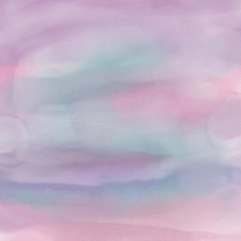 Fond d'aquarelle avec des roses et violets