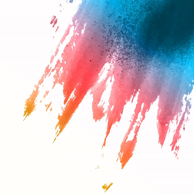 Fond d'aquarelle splat