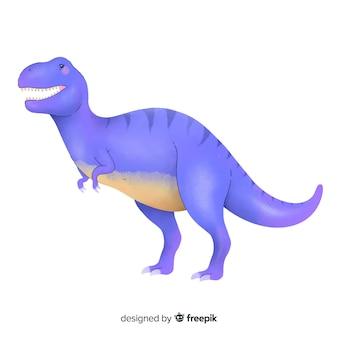 Fond d'aquarelle t-rex