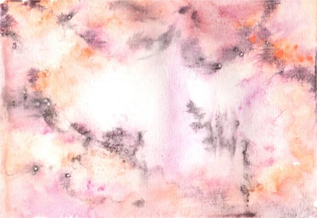 Fond aquarelle texture abstrack