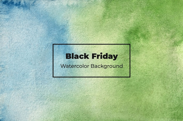Fond aquarelle vendredi noir
