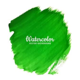 Fond aquarelle vert moderne
