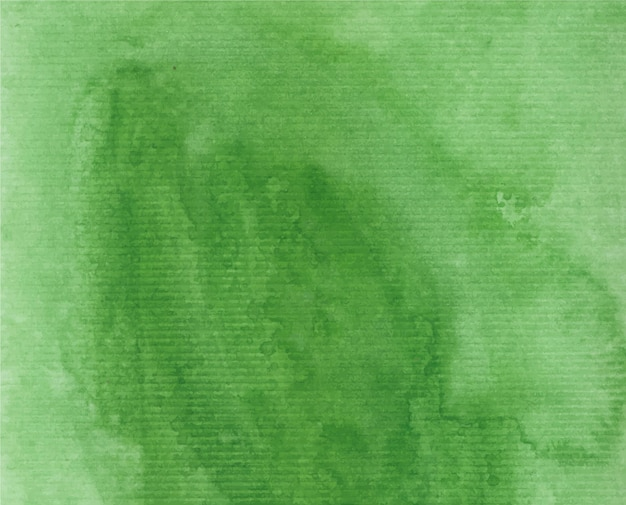 Fond aquarelle vert
