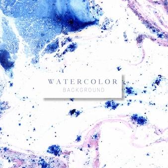 Fond aquatique bleu et violet