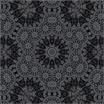Fond arabe et islamique vintage, ornements de style ethnique, modèle sans couture ornemental créatif, papier peint vectoriel décoratif, tissu de mode et emballage