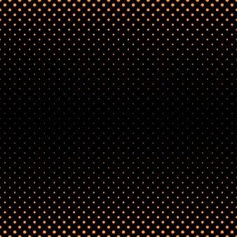 Fond d'arrière-plan en forme de demi-teinte abstraite - graphique vectoriel de cercles de différentes tailles