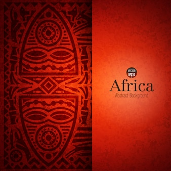Fond d'art africain traditionnel