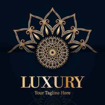 Fond d'art de luxe mandala