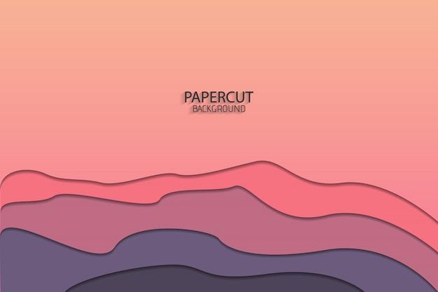 Fond d'art papier abstrait minimal