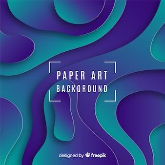 Fond d'art en papier