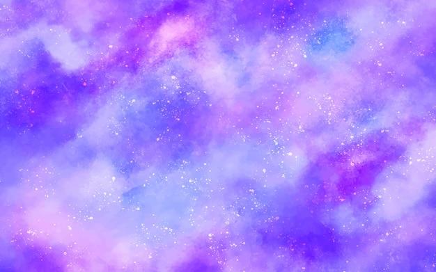 Fond Astral Galactique Vecteur gratuit