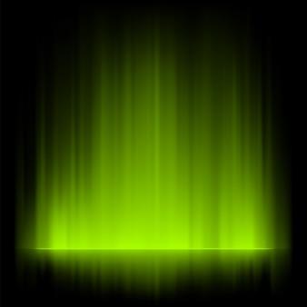 Fond d'aurores boréales.