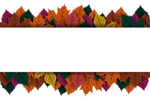 Fond d'automne avec signe vierge