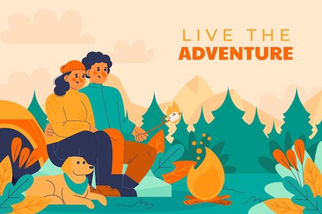 Fond d'aventure