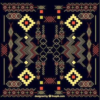 Fond aztec