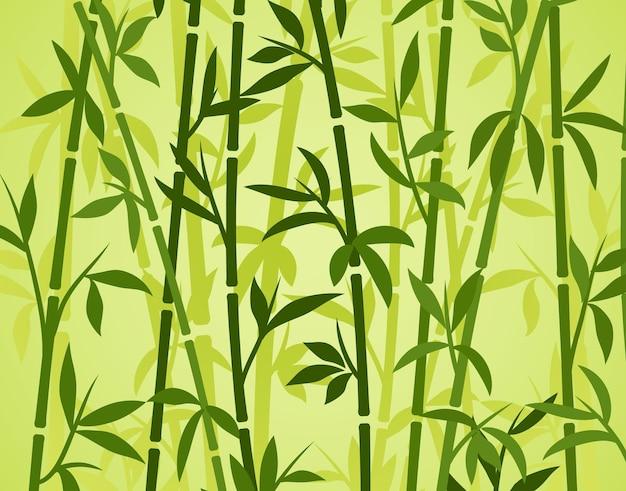Fond de bambou plante asiatique japonaise papier peint herbe