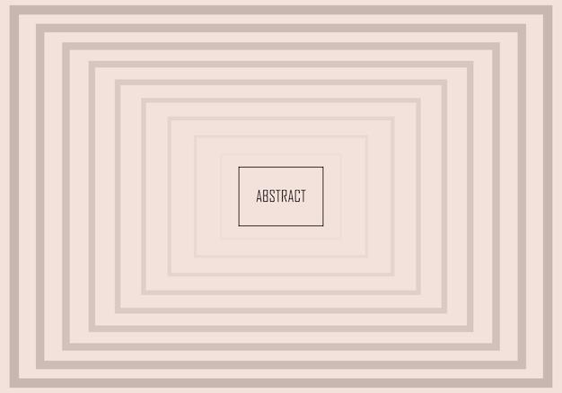 Fond de bannière abstrait rectangles dégradés minimes. illustration vectorielle.