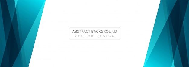 Fond de bannière abstraite vague créative