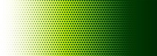 Fond de bannière colorée demi-teinte abstraite
