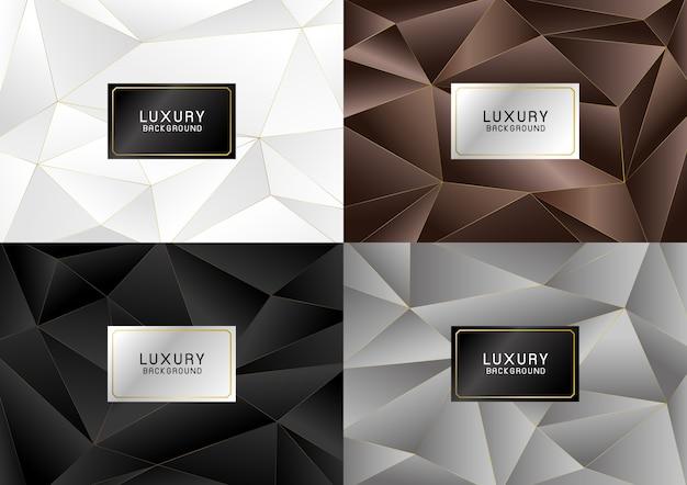 Fond de bannière de luxe