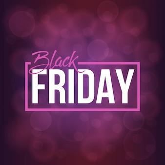 Fond de bannière noir vendredi offre spéciale vente.