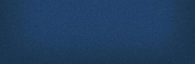 Fond de bannière de texture bleu jean classique denim