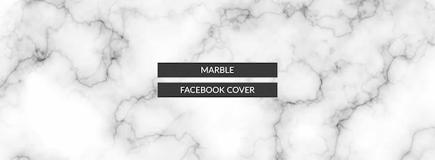 Fond de bannière de texture marbre