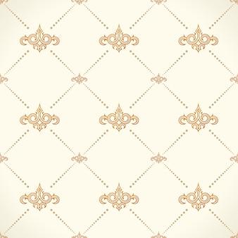 Fond baroque modèle sans couture