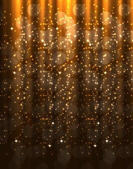 Fond de beauté abstrait noël et nouvel an. illustration vectorielle. eps10