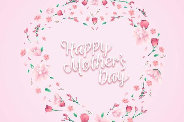 Fond de belle fête des mères