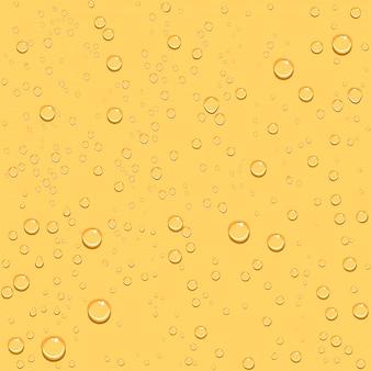 Fond de bière goutte transparente