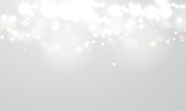 Fond blanc abstrait bokeh