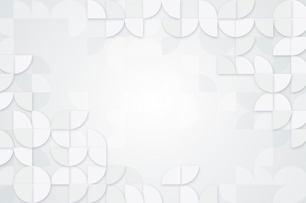 Fond blanc abstrait détaillé
