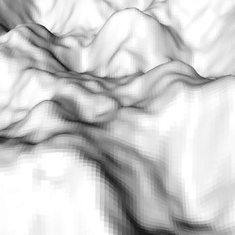 Fond blanc abstrait d'élévation de mosaïque triangulaire polygonale lowpoly pour fonds d'écran