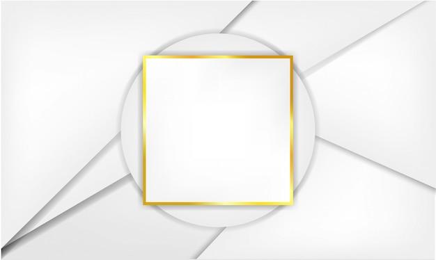 Fond blanc avec cadre