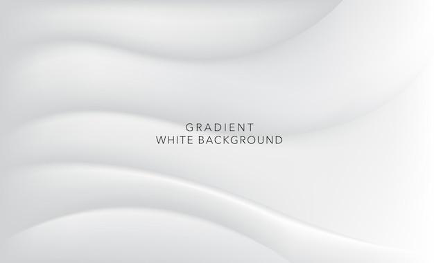 Fond blanc dégradé